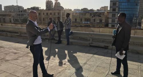 Radio reporting (Beginner/Advanced) | ACADEMIE FRANCE 24/RFI/MCD